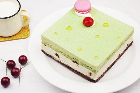 红豆慕斯蛋糕